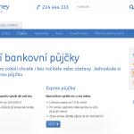 Moderní bankovní GE Money bank půjčka